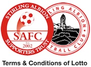 Stirling Albion Supporters Trust Terms & Conditions of Lotto