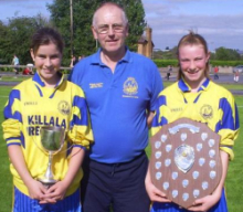 A few of Killala AFC's winners